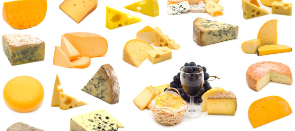 Cheeses from around the world